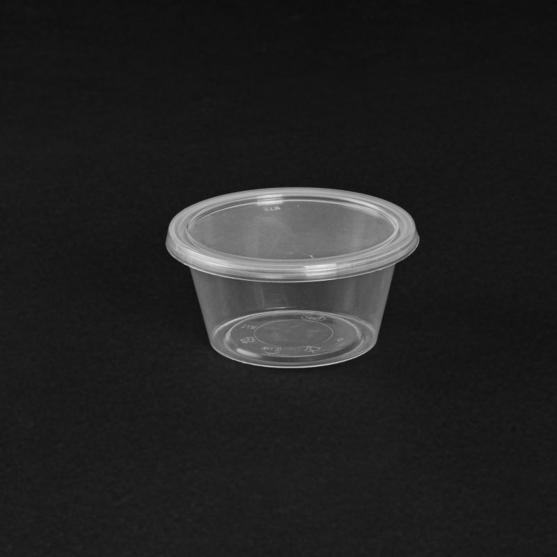 Round Disposable Plastic Food Container Manufacturer